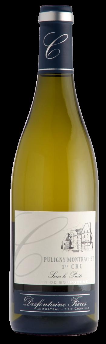 Puligny montrachet 1er cru sous le puits ch teau de for La fenetre chardonnay